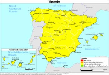 Reizen naar Spanje als toerist kan/mag weer!